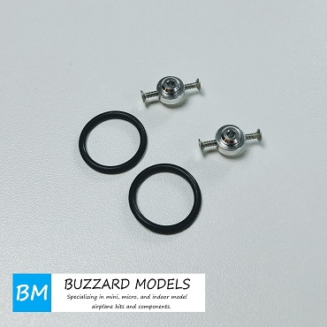 (2 pcs) Prop Saver O Ring adapter for 2.0mm motor shaft brushless