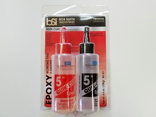 Quik-Cure 5 Minute Epoxy 4-1/2 oz