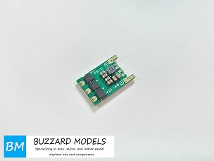 Buzzard Models MX-12A Micro Brushless ESC 2-3S 2.8A/5V Switching BEC