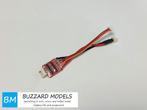 Buzzard Models MX-3A Micro Brushless ESC 1S 1.44 Gram Plug and Play