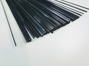 Carbon Fiber Strip 3mm x 0.5mm x 1000mm