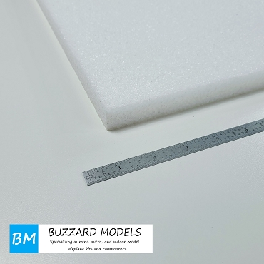 EPP Foam Sheets White 3/4