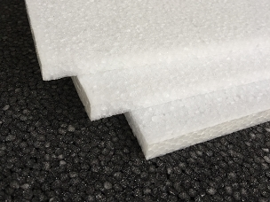 EPP Foam Sheets White 1/2